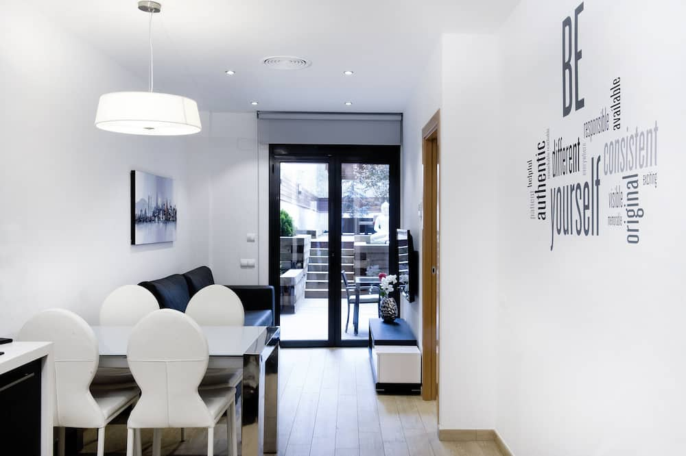 Apartman, 1 spavaća soba, trijem - Dnevni boravak