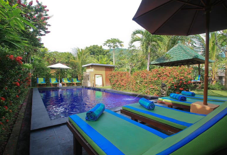 Amed Harmony Cafe and Bungalows, Karangasem, Outdoor Pool