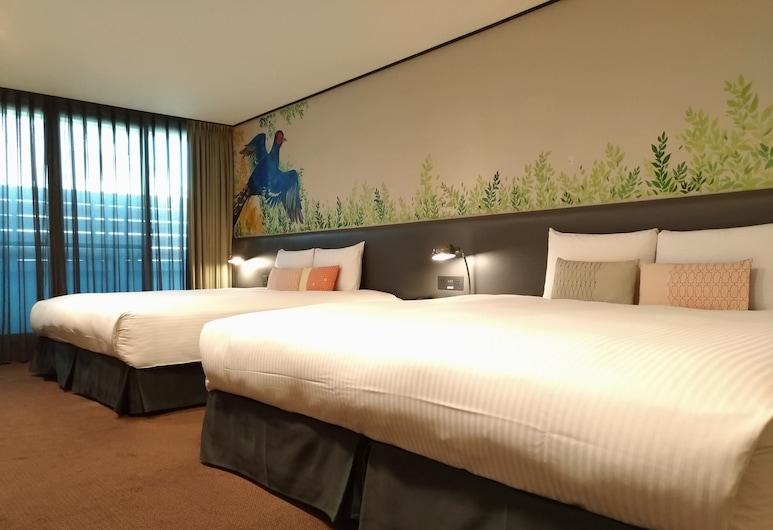 能量旅店 - 台北西門館, 台北市, 豪華家庭房, 客房