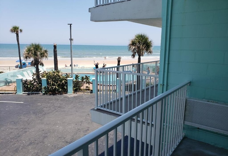 The Seascape Inn, Daytona Beach Shores, Plaža