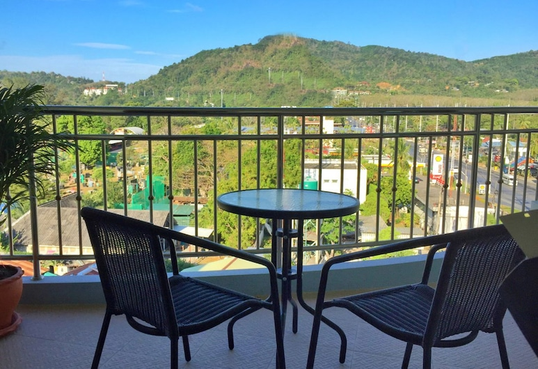 Smile Residence, Chalong, Superior Double Room, Pool View, Balcony