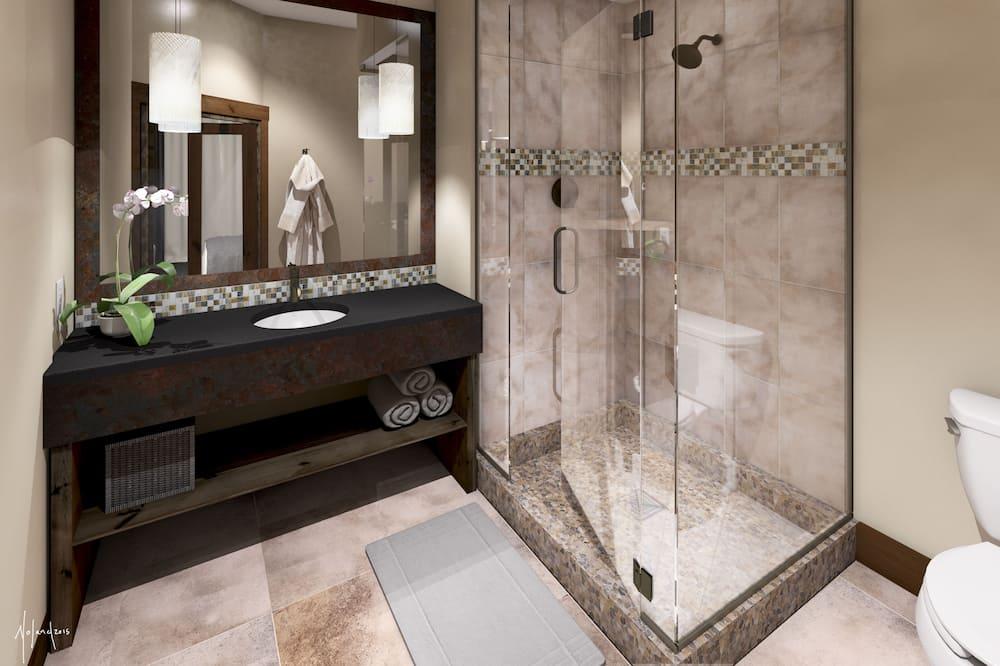 Deluxe Room, 1 King Bed, City View - Bathroom
