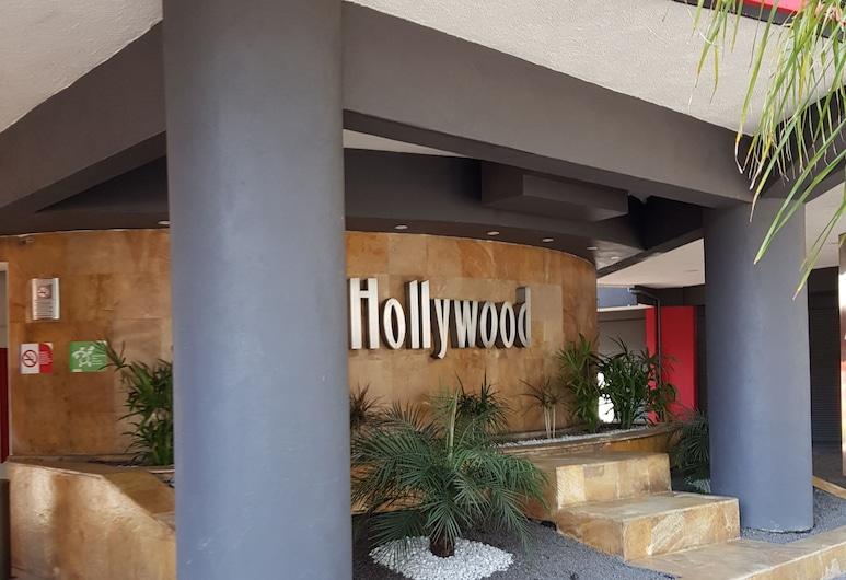 Hotel Hollywood, Mexico-stad, Ingang van hotel