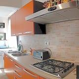 Klasikinio tipo kambarys (1 dvigulė / 2 viengulės lovos) - Bendra virtuvė