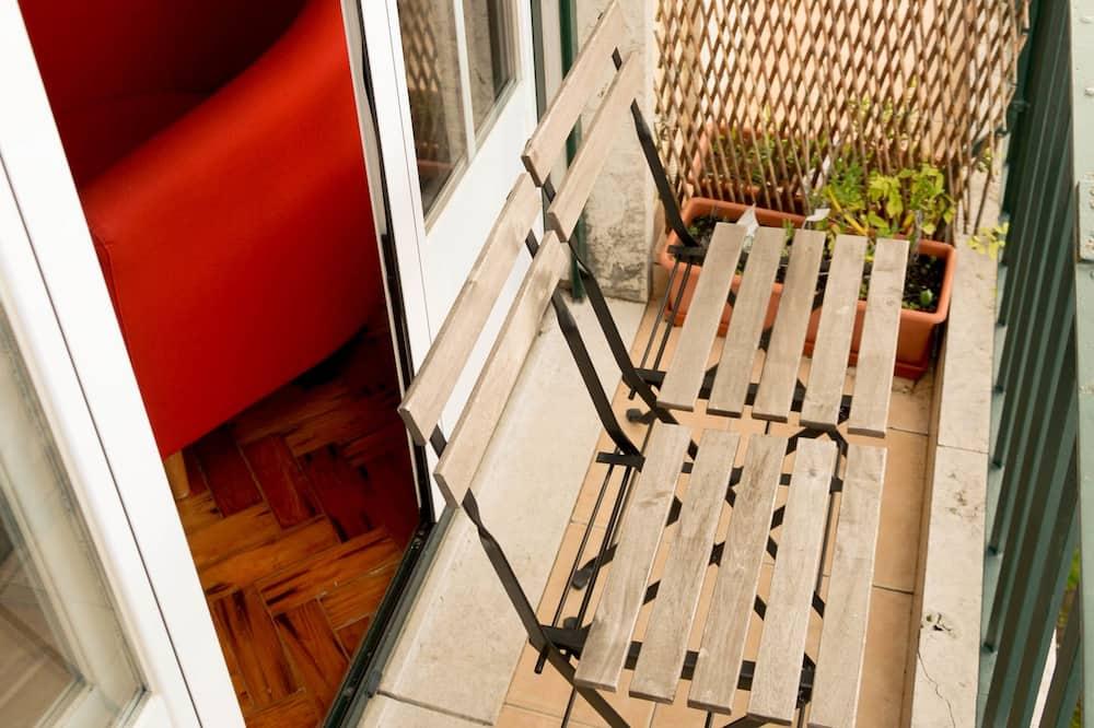 Suite, baño privado - Balcón