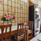 Chambre Simple, salle de bains attenante - Cuisine partagée