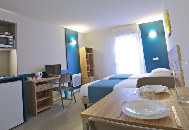 Apparteo Marseille, Marseille, Zweibettzimmer, Zimmer