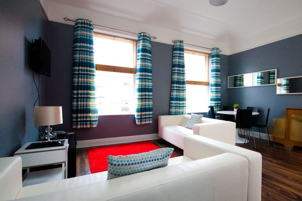 アパートメント 3 ベッドルーム (5 adults) - リビング エリア