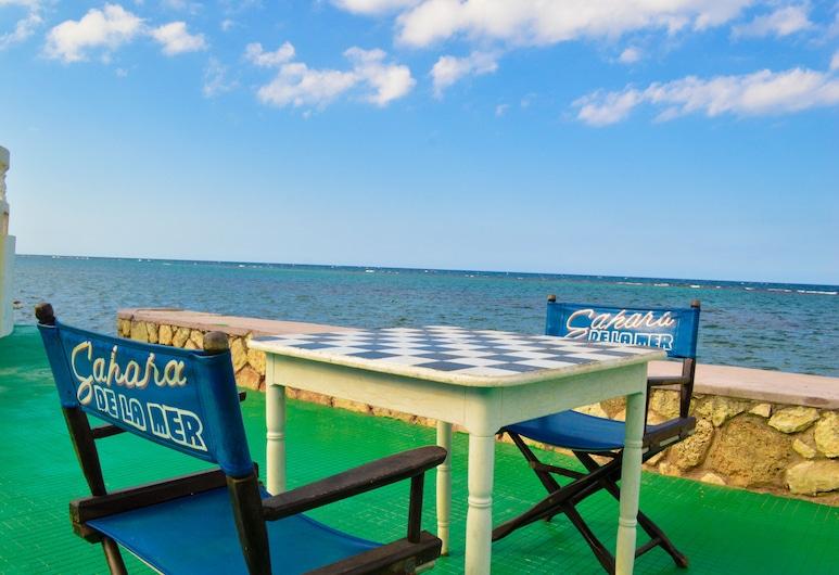 Hotel Sahara de La Mer, Montego Bay, Terrasse/veranda