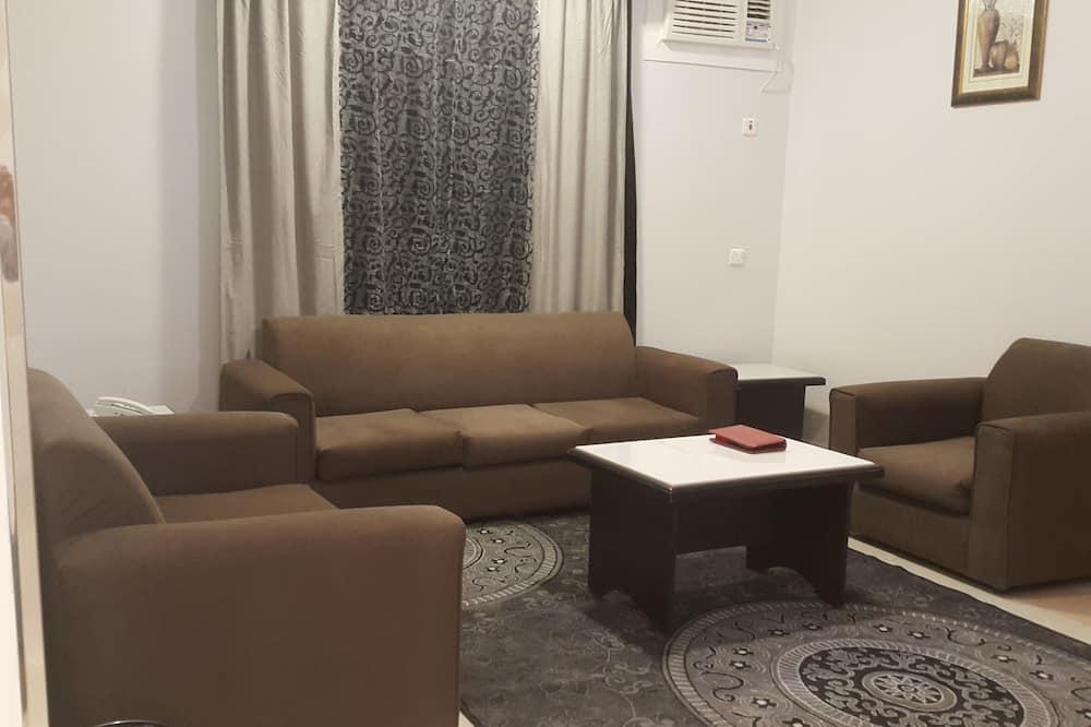 ห้องสวีท, 2 ห้องนอน - พื้นที่นั่งเล่น