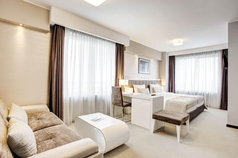 Phòng đôi hoặc 2 giường đơn Junior, 1 phòng ngủ, Quang cảnh công viên - Phòng khách