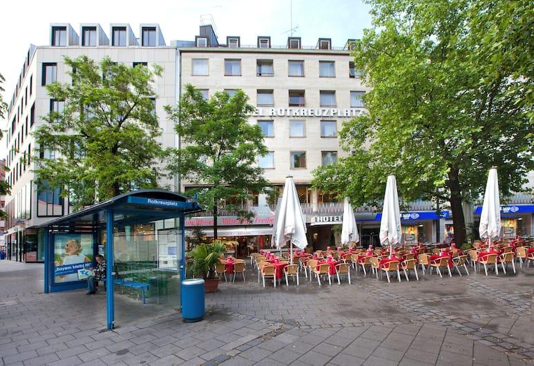 Hotel Rotkreuzplatz, München, Välisilme