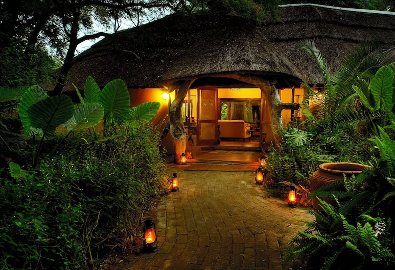 Royal Tree Lodge, Maun, Front of property - evening