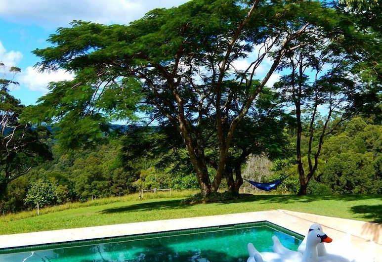 Riverbend Byron Hinterland Retreat, Репентенс-Крик, Открытый бассейн