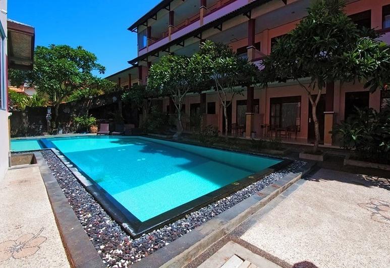 Pesona Beach Inn, Kuta, Bazén