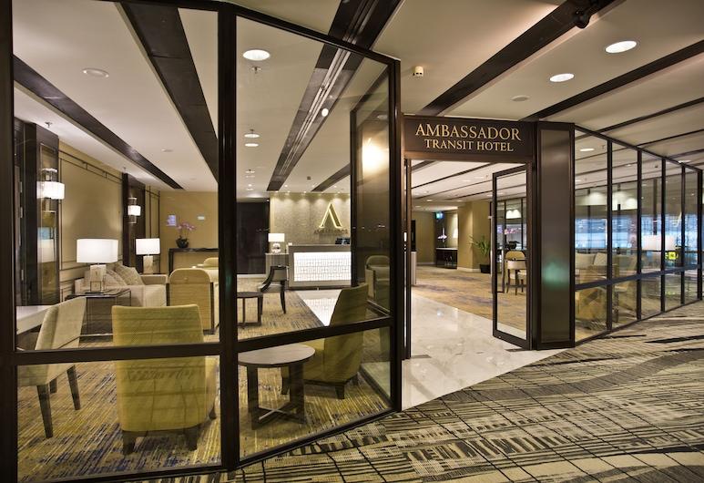 Ambassador Transit Hotel Terminal 3, Singapur, Parte delantera del hotel