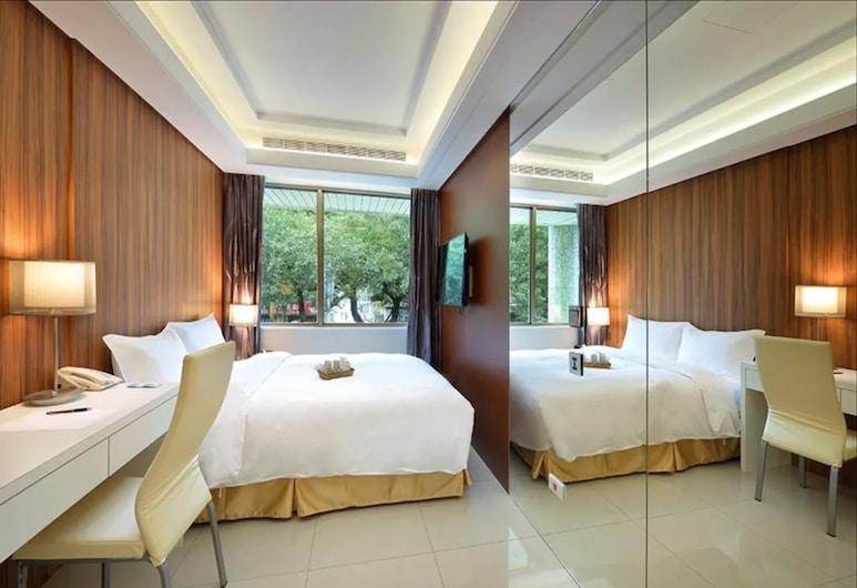 UINN TRAVEL - Hostel, Tchaj-pej, Dvojlôžková izba typu Superior, Hosťovská izba