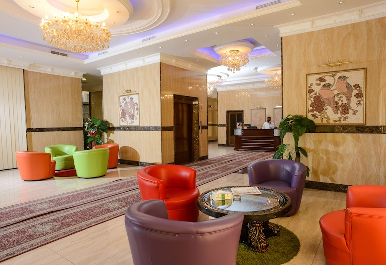 Relax Inn Hotel Apartment Fahaheel, Фахахил, Гостиная в вестибюле