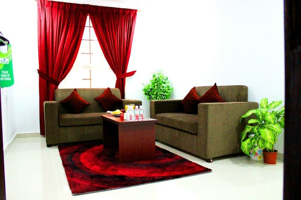 Standard-huoneisto, 2 makuuhuonetta - Olohuone