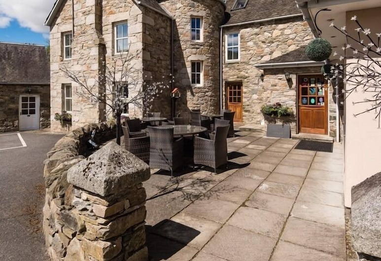 East Haugh House Hotel, Pitlochry, Terasa