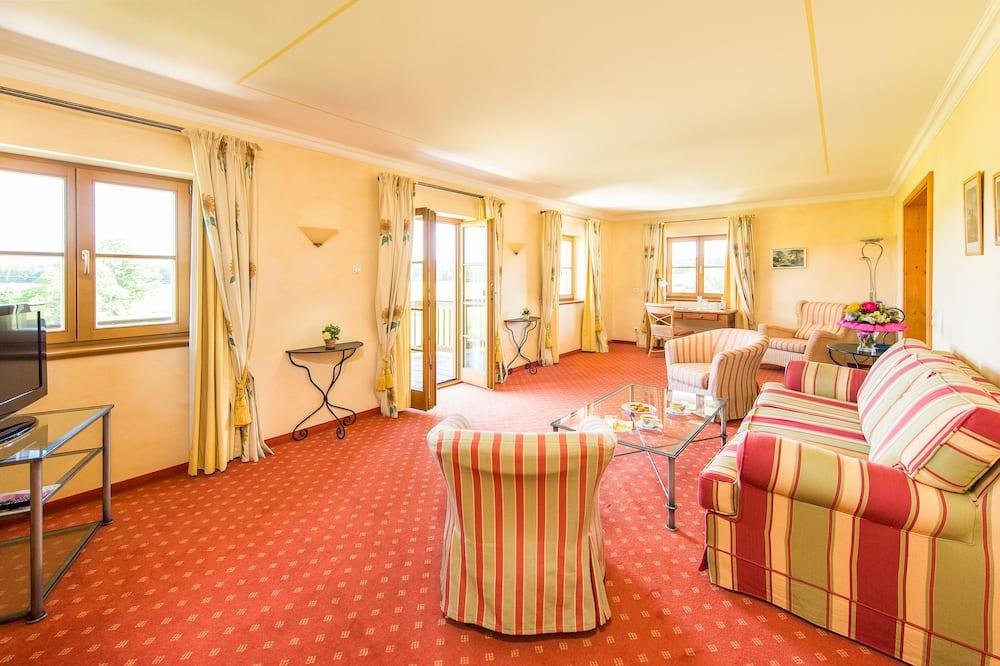 Apartament typu Suite, balkon (Maisonette) - Salon