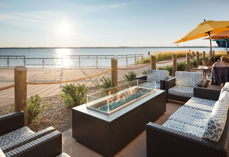 Courtyard by Marriott Erie Bayfront, Erie, Terrasse/Patio
