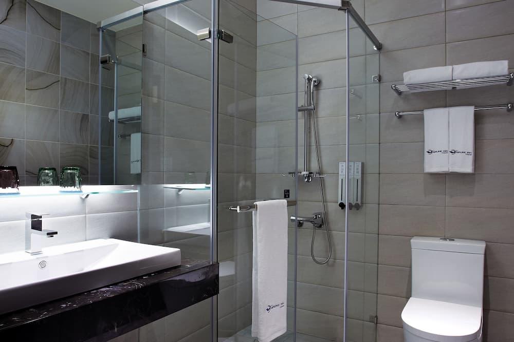 豪華雙人房 含免治馬桶 - 浴室