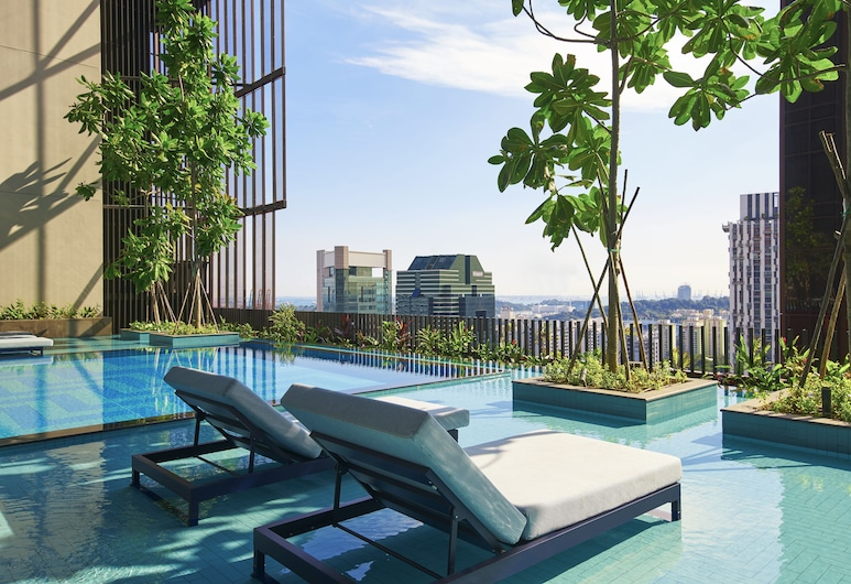 Oasia Hotel Downtown Singapore (SG Clean), Singapore, Infinity Pool