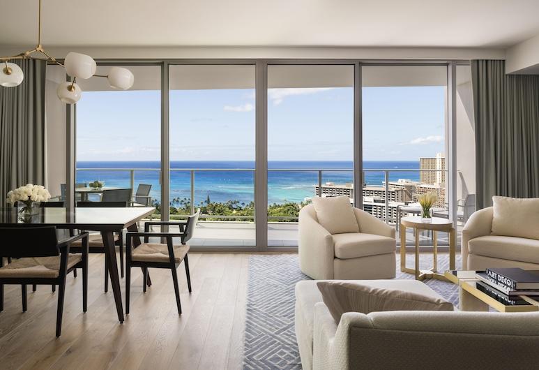 The Ritz-Carlton Residences, Waikiki Beach, Honolulu, Suite « Premier », 2 chambres, vue océan, Chambre
