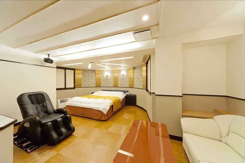 Dvojlôžková izba, fajčiarska izba - Obývacie priestory