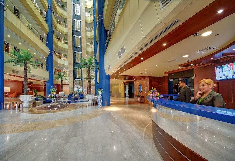 알 마나르 그랜드 호텔 아파트먼트, 두바이, 리셉션
