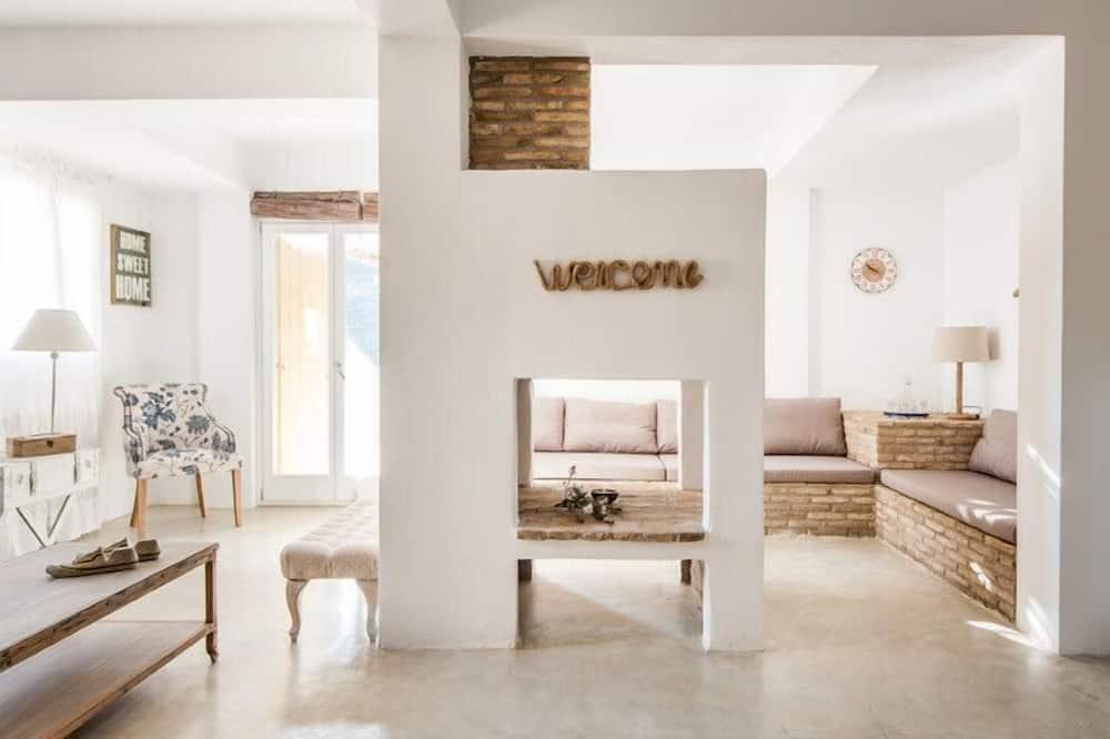 Коттедж, 3 спальни (Ocean IV) - Гостиная