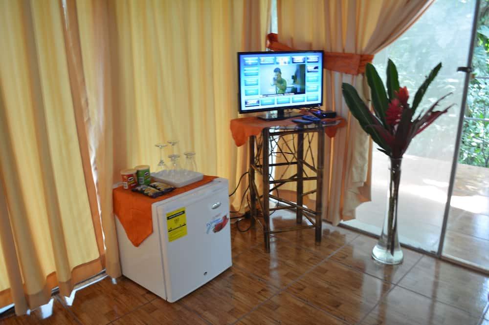 Standard-dobbeltværelse - 1 dobbeltseng - balkon - udsigt til flod - Minikøleskab