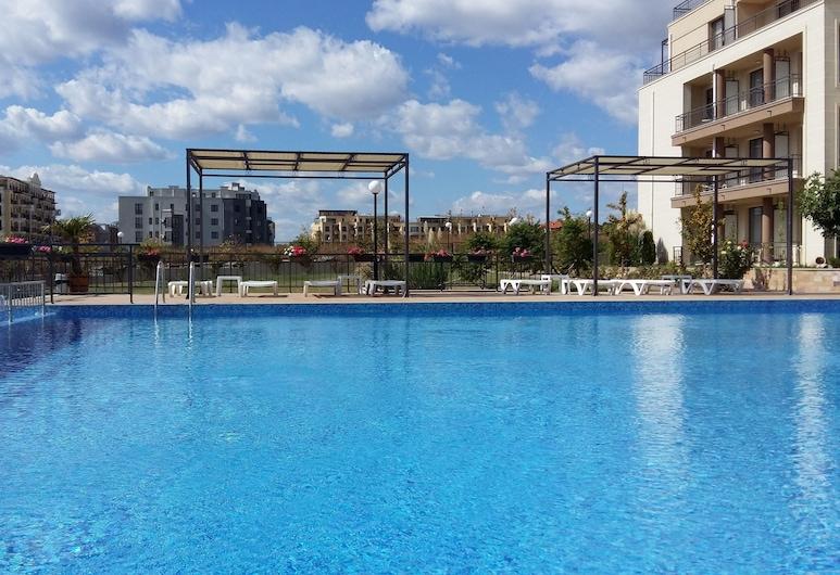 Apartkomplex Sorrento Sole Mare, Sveti Vlas, Außenpool
