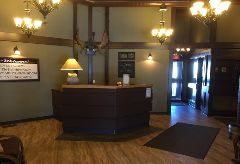 Logan Lake Lodge, Logan Lake, Interior Entrance