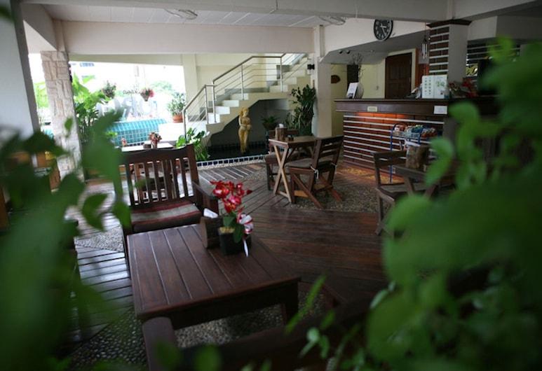 Khon Kaen Orchid Hotel, Khon Kaen, Terrasse/veranda