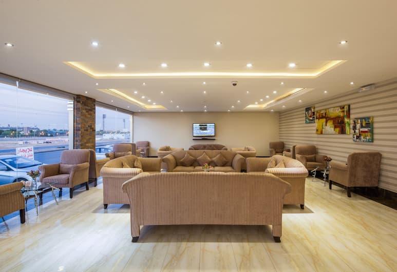 Burj Alhayah hotel suites Alfalah, Riyadh, Lobby Sitting Area