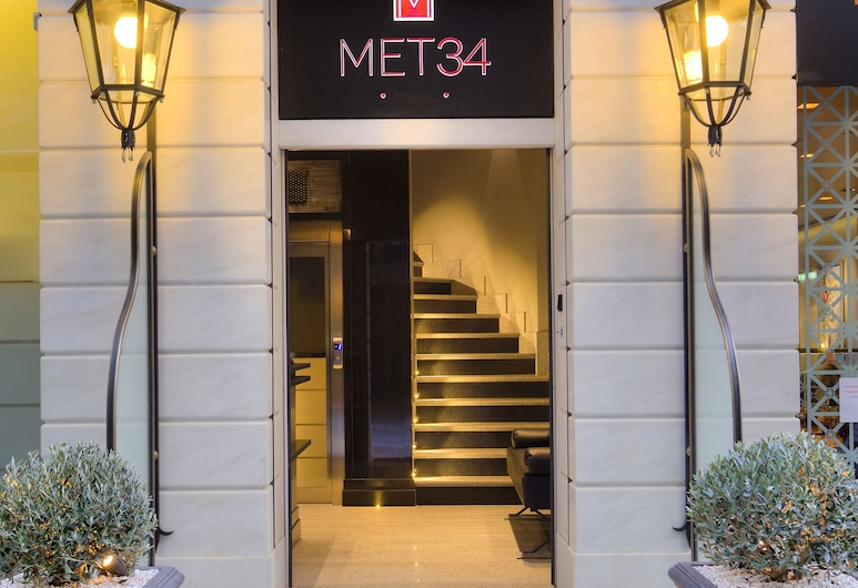 MET34 Athens, Atene, Ingresso della struttura