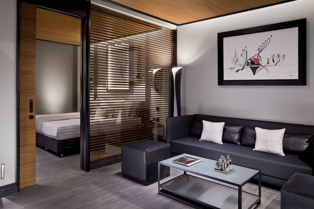 Suite, 2 habitaciones (Metropolis) - Sala de estar