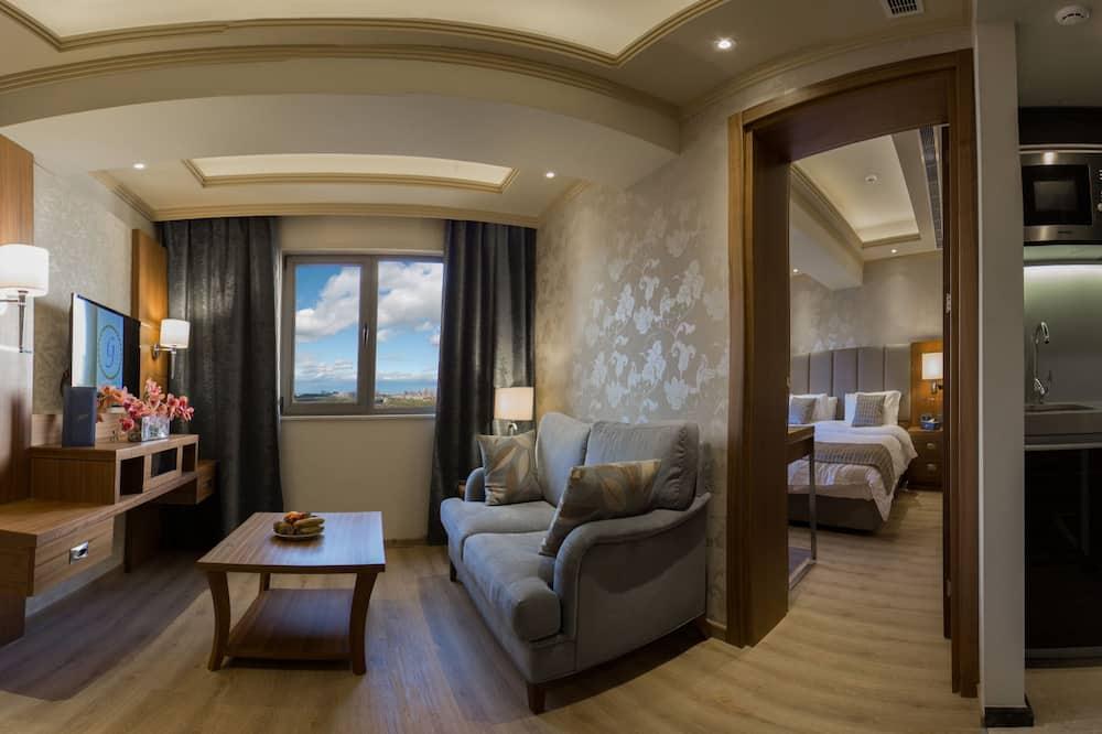 Superior Süit, 2 Yatak Odası, Buzdolabı ve Mikrodalga - Oda