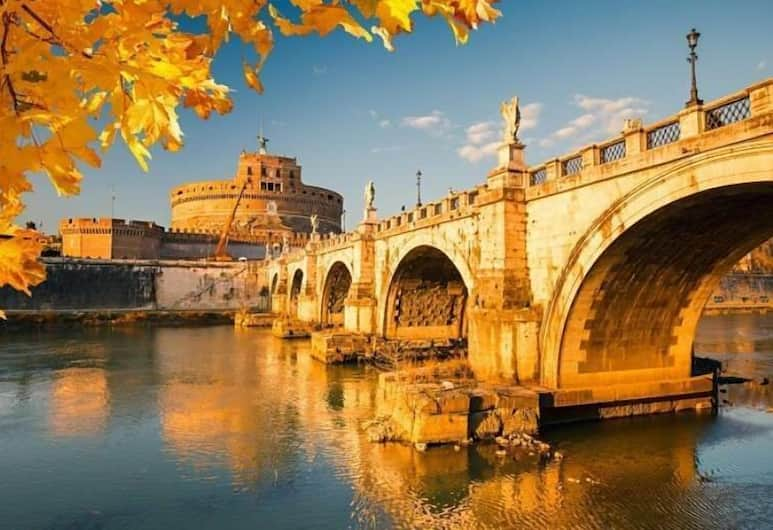 CANDIA41, רומא, מראה מהאוויר