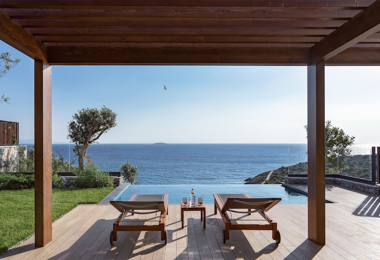 Six Senses Kaplankaya, Milas, Ridge Terrace Room with Pool, Habitación
