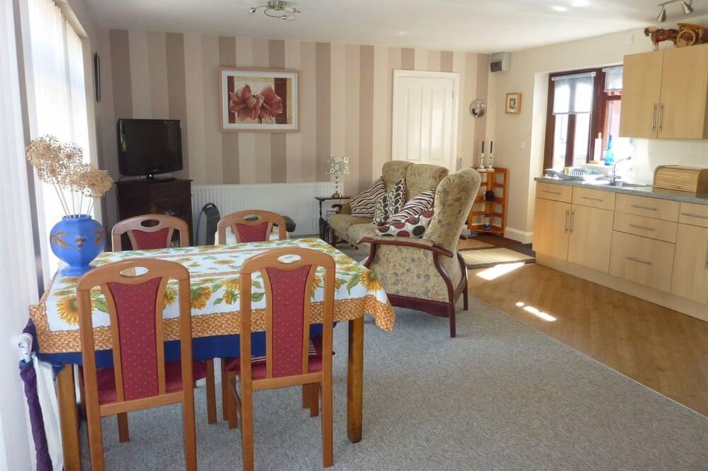 شقة - غرفة نوم واحدة (The Annex) - منطقة المعيشة