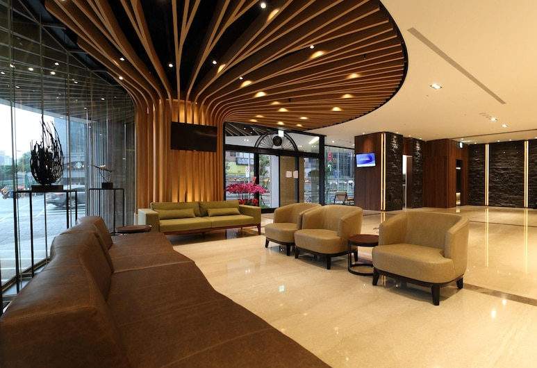 Green World Grand NanJing, Taipei, Salon de la réception