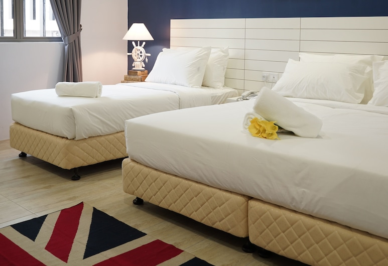 LightHouse Hotel & ShortStay @Damansara Uptown, Petaling Jaya, Quarto Familiar, Quarto