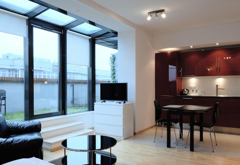 Turnau City Aparthotel, Kraków, Apartament typu Comfort, Pokój