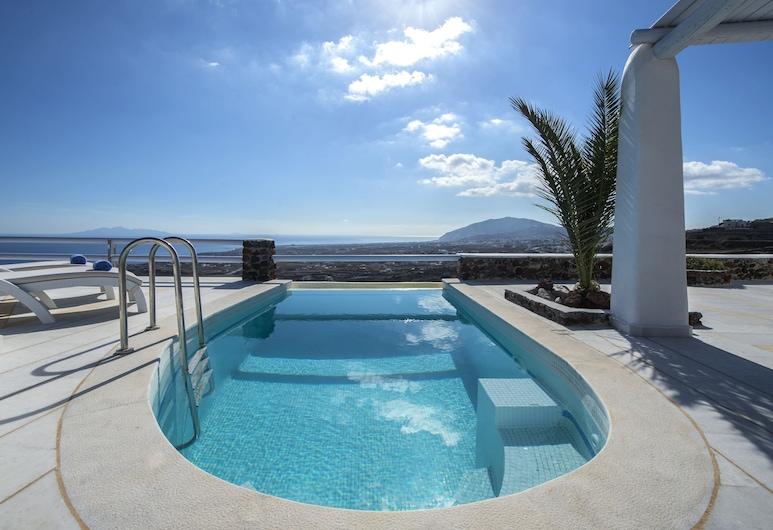 Villa Sagini, Thira, Luxusný bazén