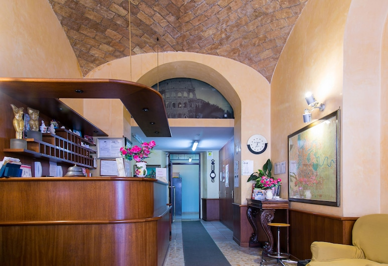 Hotel Altavilla 9, Rome, Reception