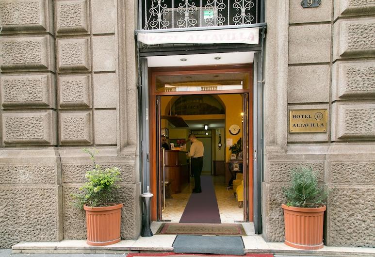 호텔 알타빌라 9, 로마, 호텔 정면