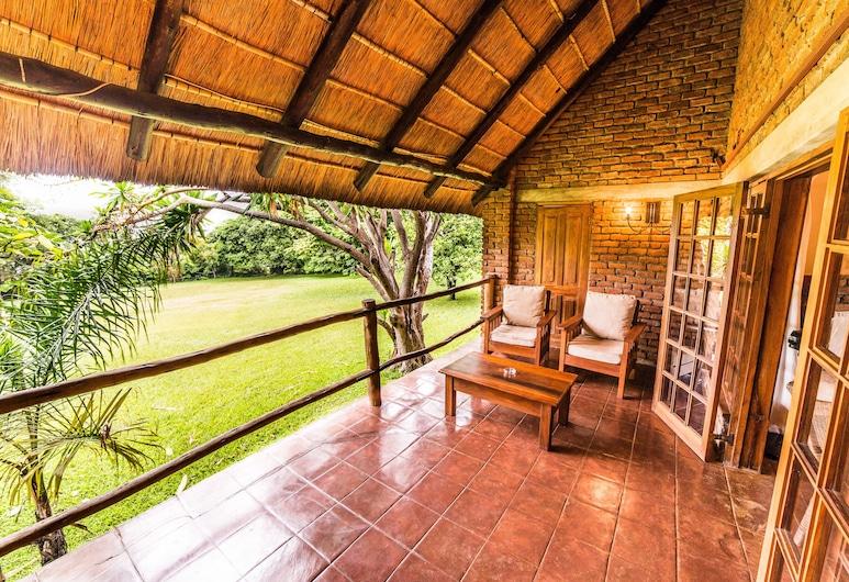 Kumbali Country Lodge, Lilongwe, Executive kahetuba, Terrass